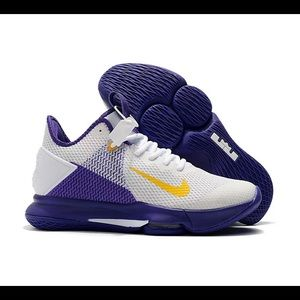Nike LeBron James Witness 4 IV Lakers White BV7427